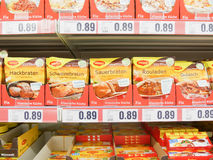 Maggi products Stock Photos