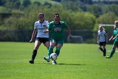 Maggie Duncliffe przy kobieta Krajowego ligi grze: Korkowy miasto FC vs Galway WFC zdjęcia stock