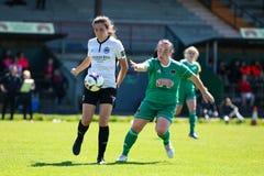 Maggie Duncliffe przy kobieta Krajowego ligi grze: Korkowy miasto FC vs Galway WFC obraz stock