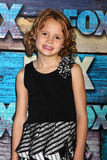 Maggie Elizabeth Jones arrives at the FOX TCA Summer 2012 Party Royalty Free Stock Photos
