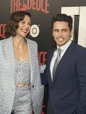 Maggie Gyllenhaal et James Franco Image libre de droits