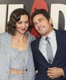 Maggie Gyllenhaal et James Franco Photo stock