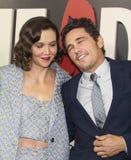 Maggie Gyllenhaal i James Franco Zdjęcie Stock