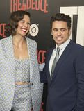 Maggie Gyllenhaal and James Franco Royalty Free Stock Image