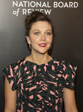 Maggie Gyllenhaal at NBR Film Gala Royalty Free Stock Photos