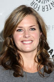 Maggie Lawson. LOS ANGELES - NOV 29:  Maggie Lawson arrives at 'Psych:  A Twin Peaks Gathering' at Paley Center for Media on November 29, 2010 in Beverly Hills Royalty Free Stock Photos