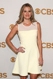 Maggie Lawson. Actress Maggie Lawson attends the 2015 CBS Upfront at The Tent at Lincoln Center on May 13, 2015 in New York City Stock Photo
