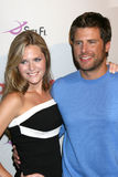 Maggie Lawson,James Roday. Maggie Lawson & James Roday  arriving at the NBC TCA Party at the Beverly Hilton Hotel  in Beverly Hills, CA on July 20, 2008 Royalty Free Stock Photos