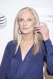 Maggie. New York, NY, USA - April 22, 2015: Joely Richardson attends the World premiere Narrative of Maggie during the 2015 Tribeca Film Festival at BMCC Tribeca Royalty Free Stock Photos