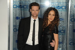 Maggie Q, Shane West Royalty Free Stock Images