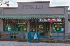 Maggie-` s Restaurant vom wilden Schwein-Film lizenzfreie stockfotografie