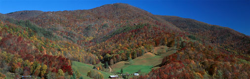 Maggie Valley, grande Smokey National Park, North Carolina fotografia de stock