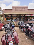 Maggies Diner from the film Wild Hogs in Madrid New Mexico USA Stock Photography