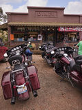 Maggies Diner from the film Wild Hogs in Madrid New Mexico USA Royalty Free Stock Images
