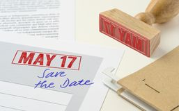 17 maggio Fotografia Stock Libera da Diritti