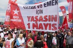 1° maggio a Costantinopoli Immagine Stock