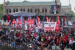 1° maggio a Costantinopoli Fotografia Stock Libera da Diritti
