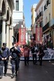 1° maggio dimostrazione 48 Fotografie Stock Libere da Diritti