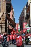 1° maggio dimostrazione 54 Immagini Stock Libere da Diritti