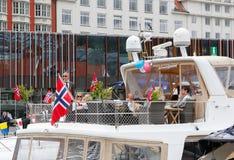 17 maggio 2016: Festa nazionale in Norvegia Fotografia Stock Libera da Diritti