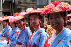 4 maggio 2017 Festival della via di Fukuoka Immagine Stock Libera da Diritti