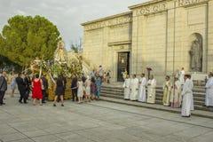 maggio 2013 Getafe - la SPAGNA onora il vergine Immagini Stock Libere da Diritti