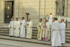 maggio 2013 Getafe - la SPAGNA onora il vergine Immagine Stock
