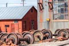 11 maggio 2015 Nevada Northern Railway Museum, Ely orientale Fotografia Stock Libera da Diritti