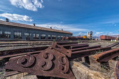 11 maggio 2015 Nevada Northern Railway Museum, Ely orientale Fotografie Stock