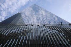 23 MAGGIO 2019 - New York, Stati Uniti: One World Trade Center, Freedom Tower, New York, Stati Uniti Lo del World Trade Center immagine stock