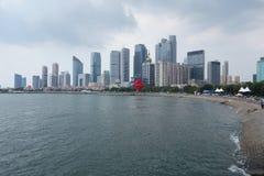 Maggio 4 Qingdao quadrata Seaview Immagini Stock