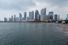 Maggio 4 Qingdao quadrata Seaview Fotografia Stock Libera da Diritti