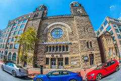 Maggior nuova speranza Baptist Church, Washington DC, U.S.A. fotografie stock