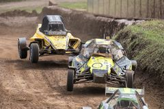 FIA European Autocross Championship and Italian Championship AX Royalty Free Stock Photo