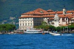 maggiore озера Италии isola bella стоковые фотографии rf