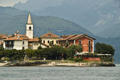 Maggiore de Lago, isla de los pescadores Fotografía de archivo libre de regalías