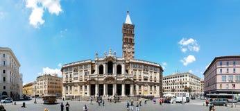 Maggiore de Santa Maria de basilique - Rome - dehors images stock