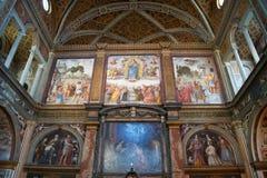 Maggiore do monastero do al de San Maurizio Foto de Stock Royalty Free