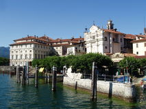 maggiore för bellaisolaitaly lago arkivbild
