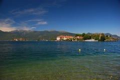 maggiore för bellaisolaitaly lake fotografering för bildbyråer