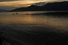 Maggiore Italia del lago Fotos de archivo