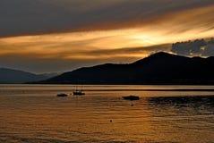 Maggiore Italia del lago Fotografía de archivo libre de regalías