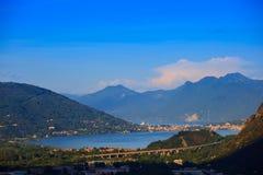 Maggiore jezioro Obrazy Royalty Free