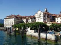 maggiore lago Италии isola bella стоковая фотография