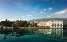 maggiore lago Италии isola bella Стоковые Фото