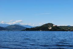 Maggiore lake Royalty Free Stock Photography