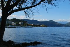 Maggiore lake Royalty Free Stock Photos