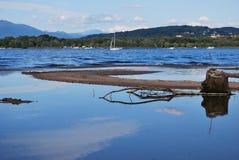 Maggiore lake Royalty Free Stock Image