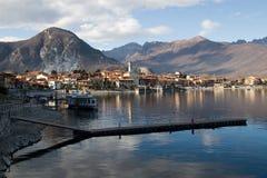 Maggiore lake Stock Image