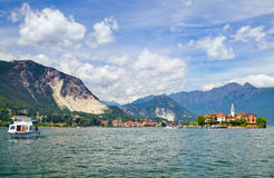 Maggiore lake, Italy Royalty Free Stock Photography